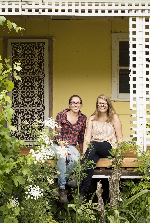 Vanessa Garcia and Dominique Northam of Flower Farm Collective