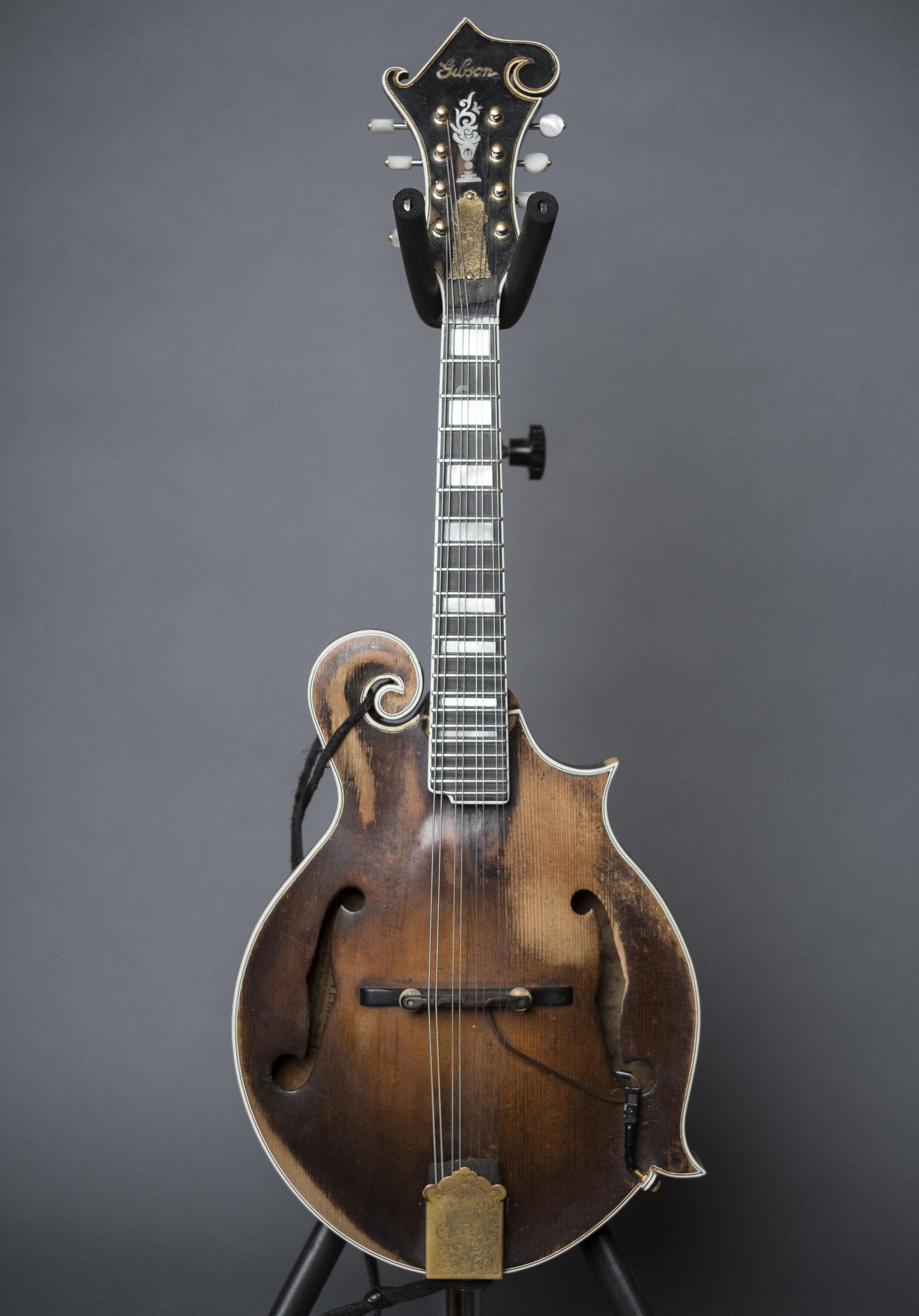 Sam Bush's 1937 Gibson F5