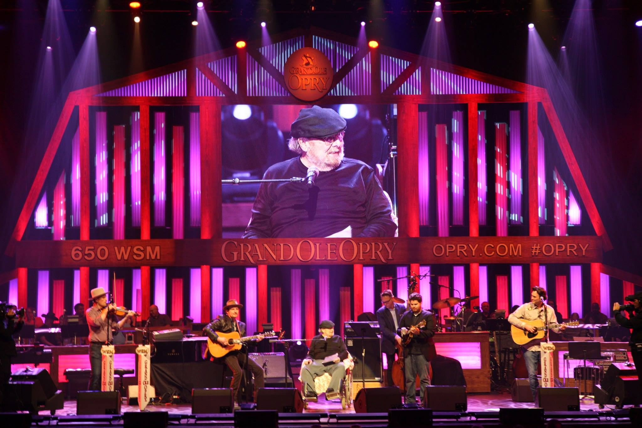 Mac Wiseman @ The Grand Ole Opry 2015