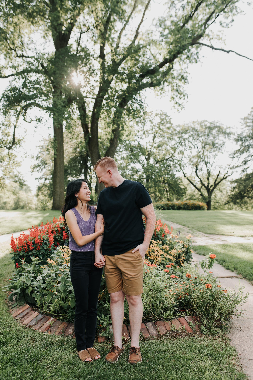 Catherin & Kyle - Married - Nathaniel Jensen Photography - Omaha Nebraska Wedding Photograper - Memorial Park - Joslyn Castle Engagement Session-9.jpg