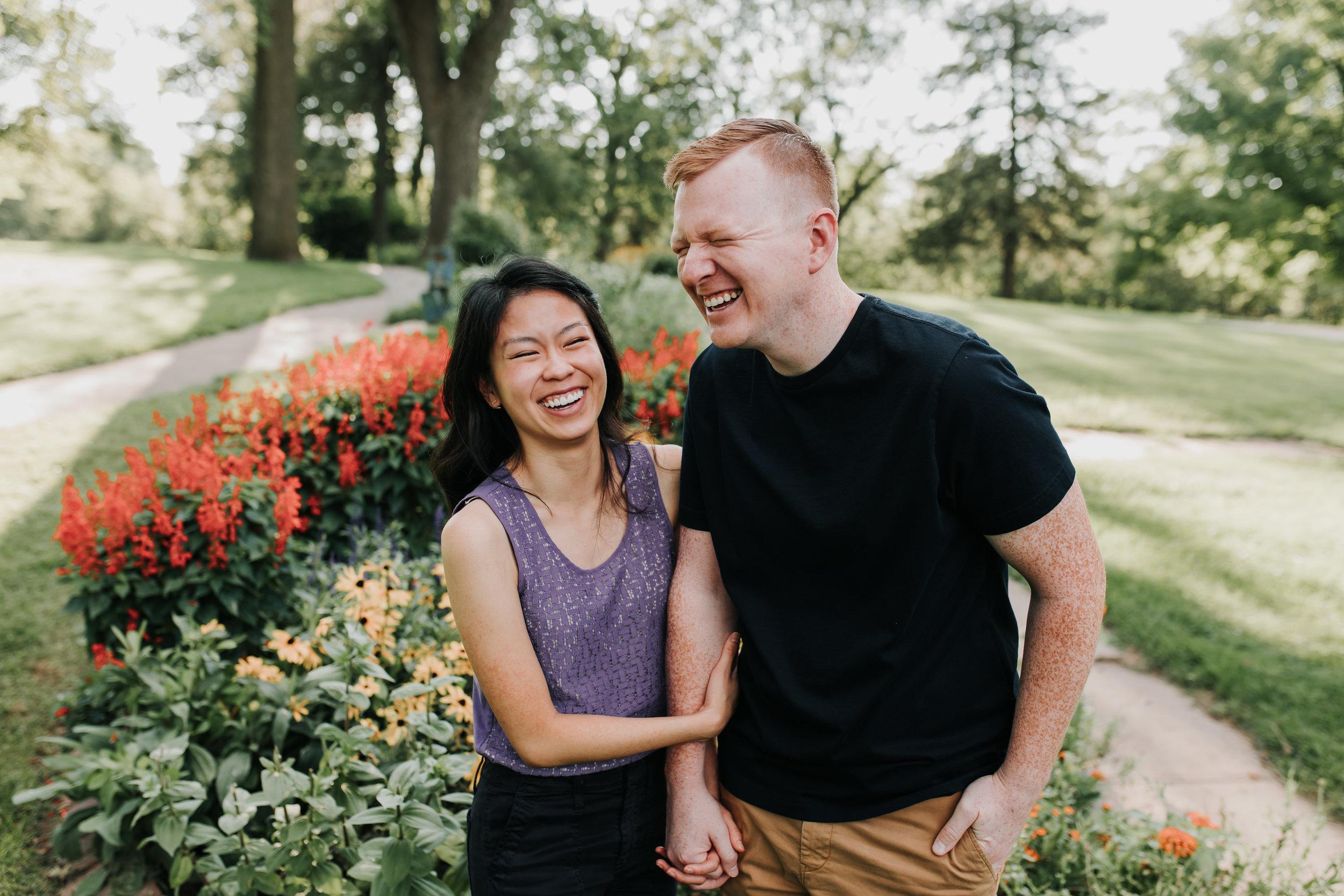 Catherin & Kyle - Married - Nathaniel Jensen Photography - Omaha Nebraska Wedding Photograper - Memorial Park - Joslyn Castle Engagement Session-11.jpg