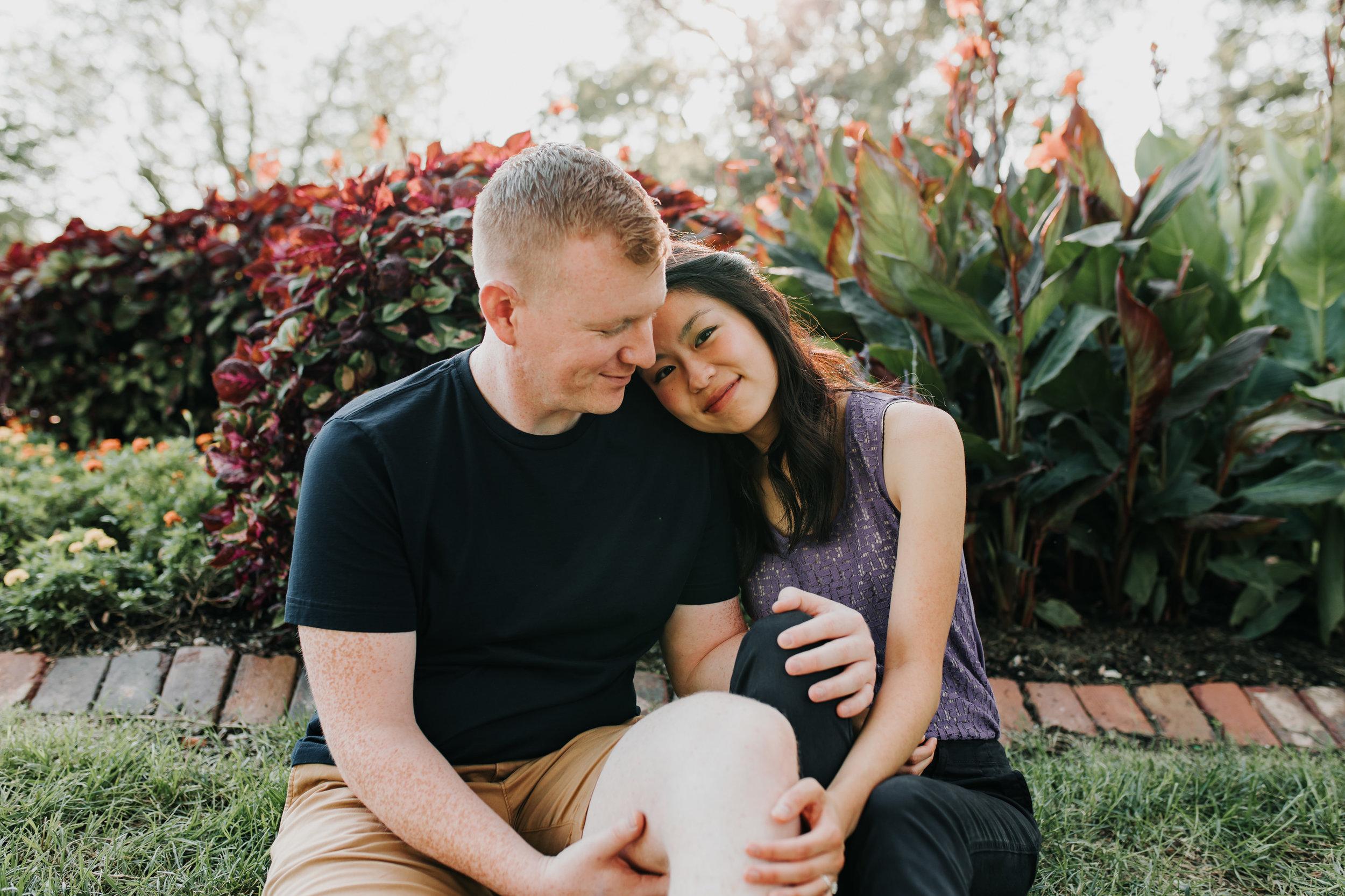 Catherin & Kyle - Married - Nathaniel Jensen Photography - Omaha Nebraska Wedding Photograper - Memorial Park - Joslyn Castle Engagement Session-16.jpg