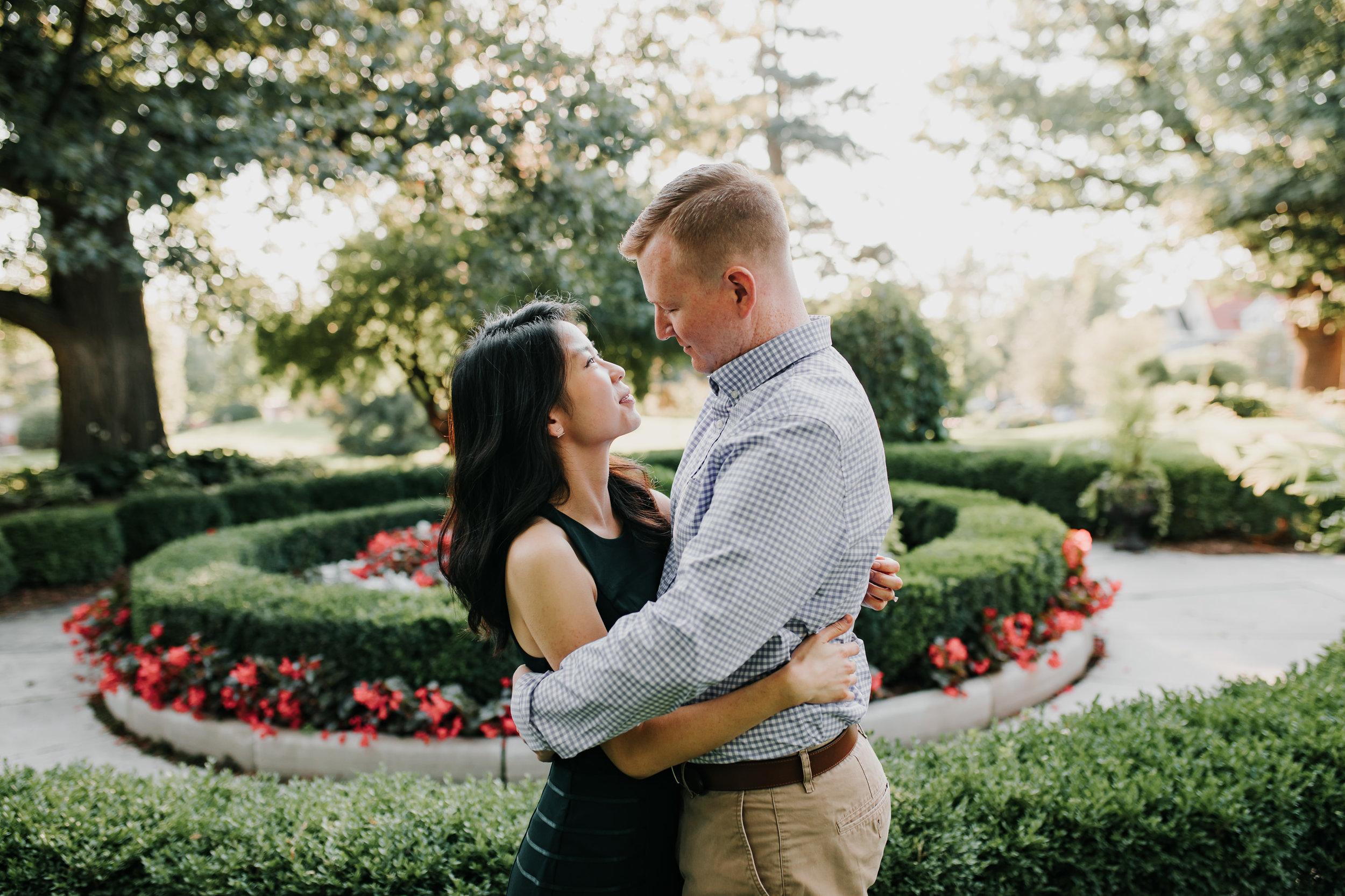 Catherin & Kyle - Married - Nathaniel Jensen Photography - Omaha Nebraska Wedding Photograper - Memorial Park - Joslyn Castle Engagement Session-31.jpg
