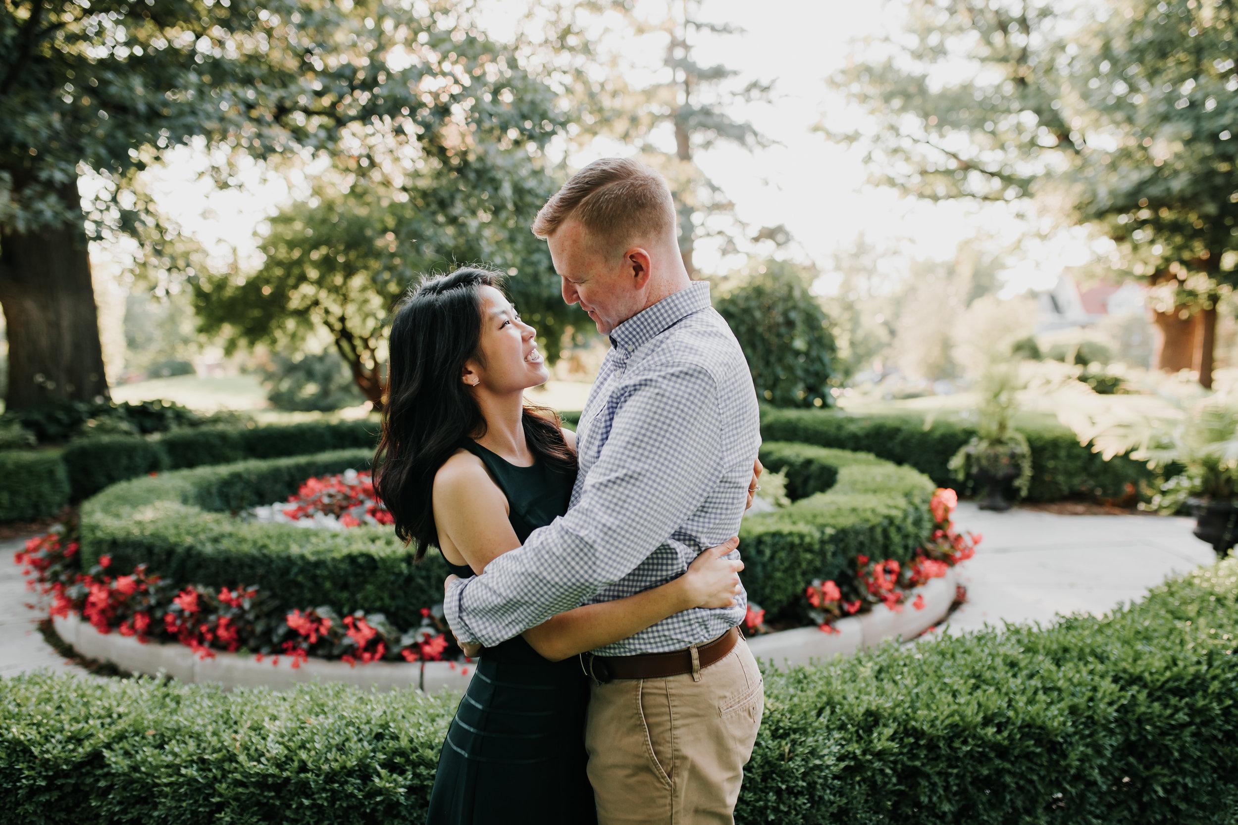 Catherin & Kyle - Married - Nathaniel Jensen Photography - Omaha Nebraska Wedding Photograper - Memorial Park - Joslyn Castle Engagement Session-32.jpg
