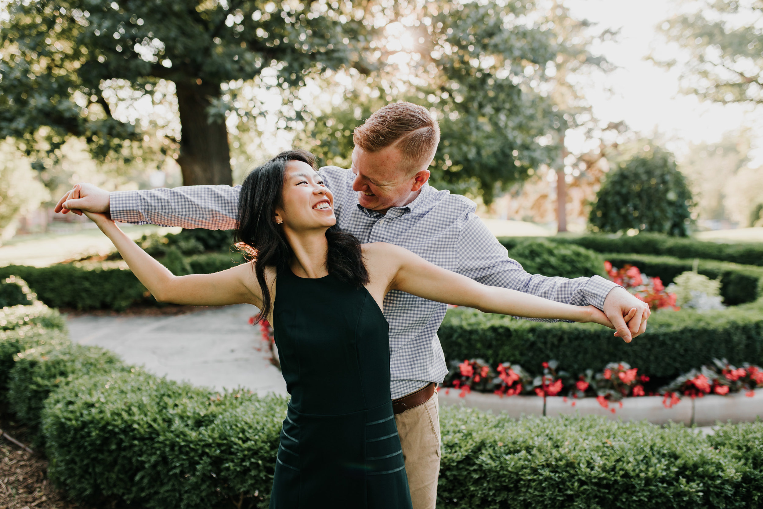 Catherin & Kyle - Married - Nathaniel Jensen Photography - Omaha Nebraska Wedding Photograper - Memorial Park - Joslyn Castle Engagement Session-41.jpg
