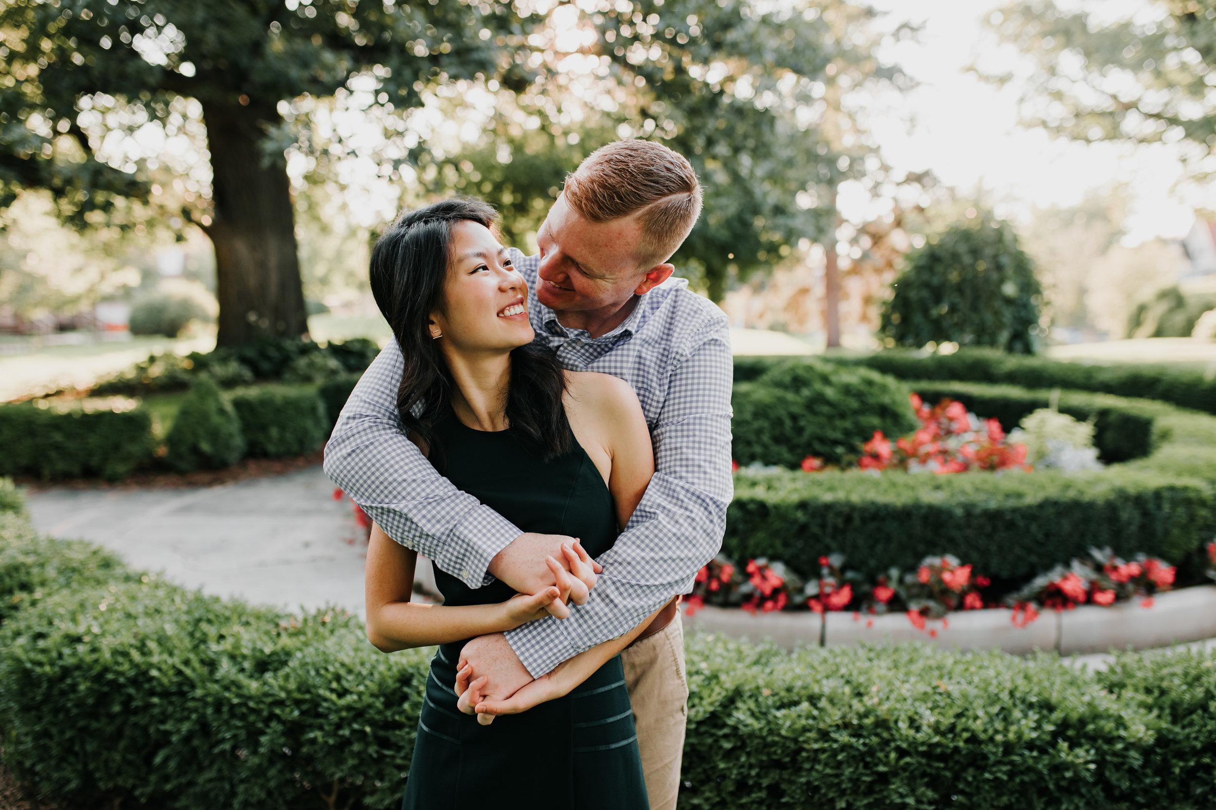 Catherin & Kyle - Married - Nathaniel Jensen Photography - Omaha Nebraska Wedding Photograper - Memorial Park - Joslyn Castle Engagement Session-42.jpg