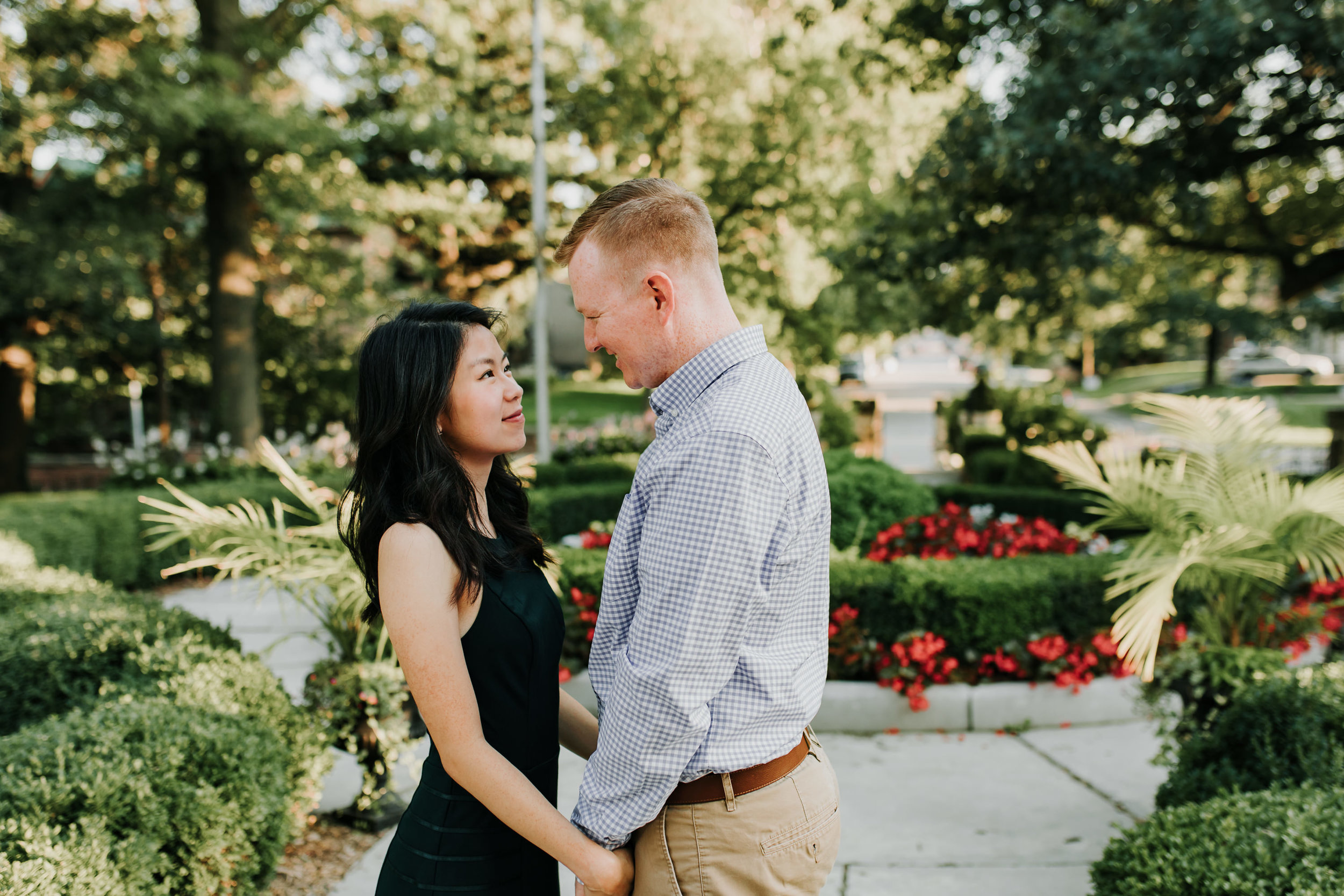 Catherin & Kyle - Married - Nathaniel Jensen Photography - Omaha Nebraska Wedding Photograper - Memorial Park - Joslyn Castle Engagement Session-43.jpg