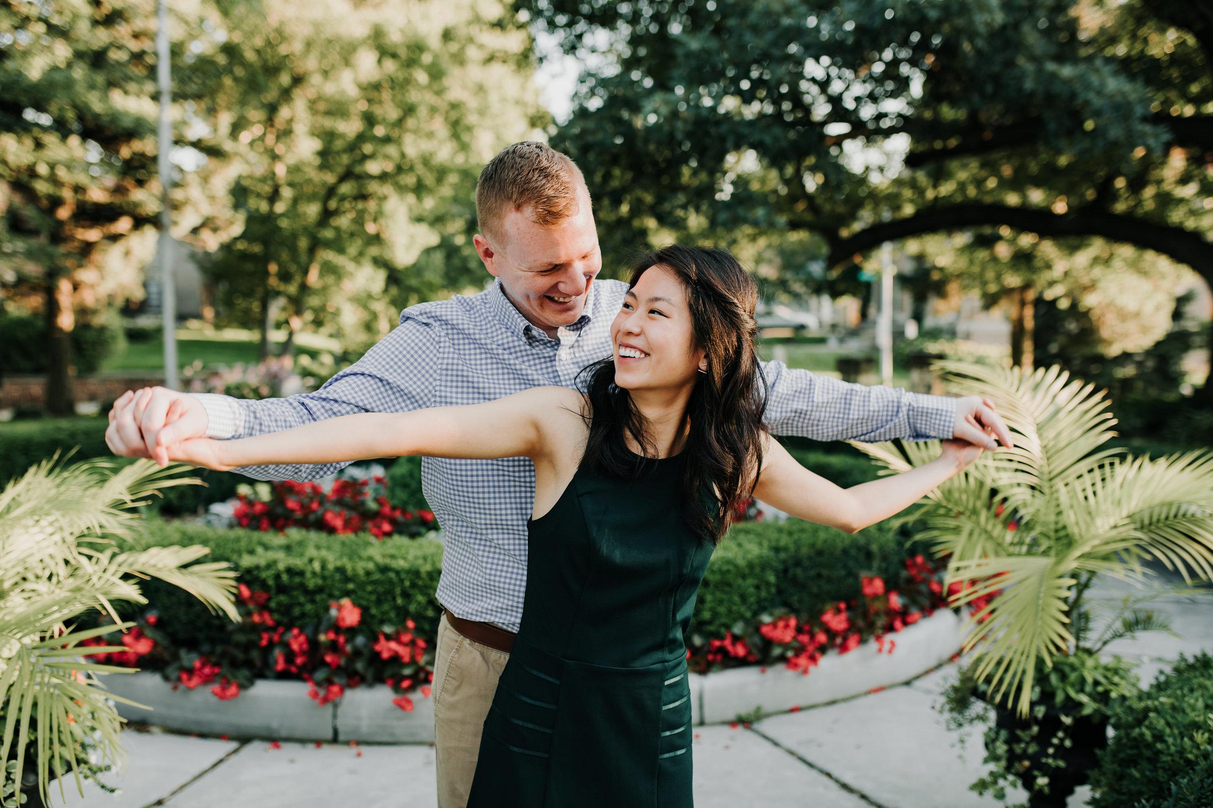 Catherin & Kyle - Married - Nathaniel Jensen Photography - Omaha Nebraska Wedding Photograper - Memorial Park - Joslyn Castle Engagement Session-46.jpg