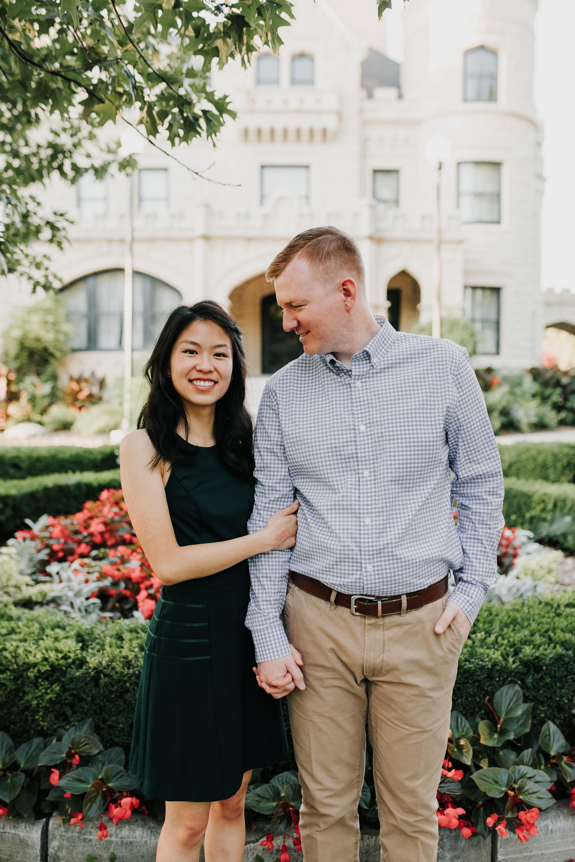Catherin & Kyle - Married - Nathaniel Jensen Photography - Omaha Nebraska Wedding Photograper - Memorial Park - Joslyn Castle Engagement Session-48.jpg