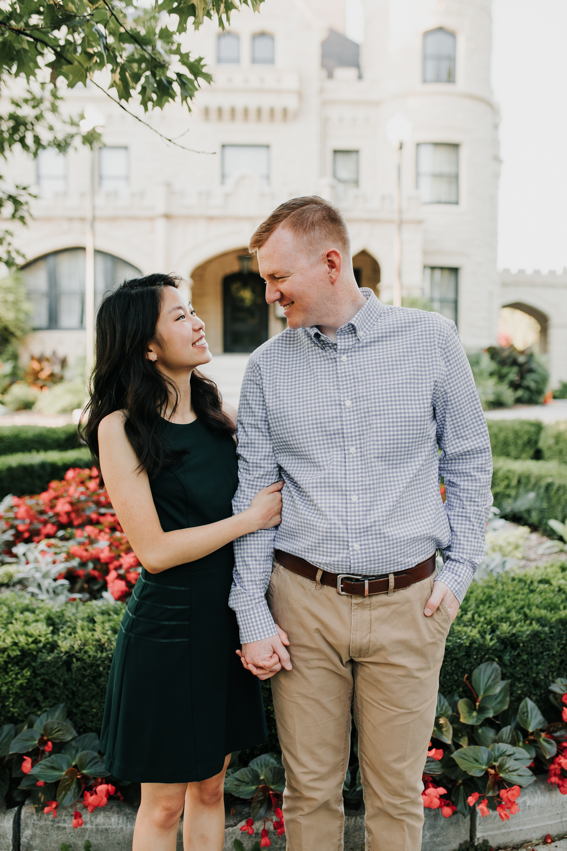 Catherin & Kyle - Married - Nathaniel Jensen Photography - Omaha Nebraska Wedding Photograper - Memorial Park - Joslyn Castle Engagement Session-49.jpg
