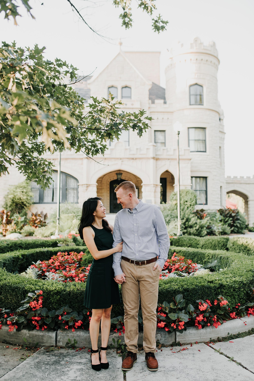 Catherin & Kyle - Married - Nathaniel Jensen Photography - Omaha Nebraska Wedding Photograper - Memorial Park - Joslyn Castle Engagement Session-50.jpg
