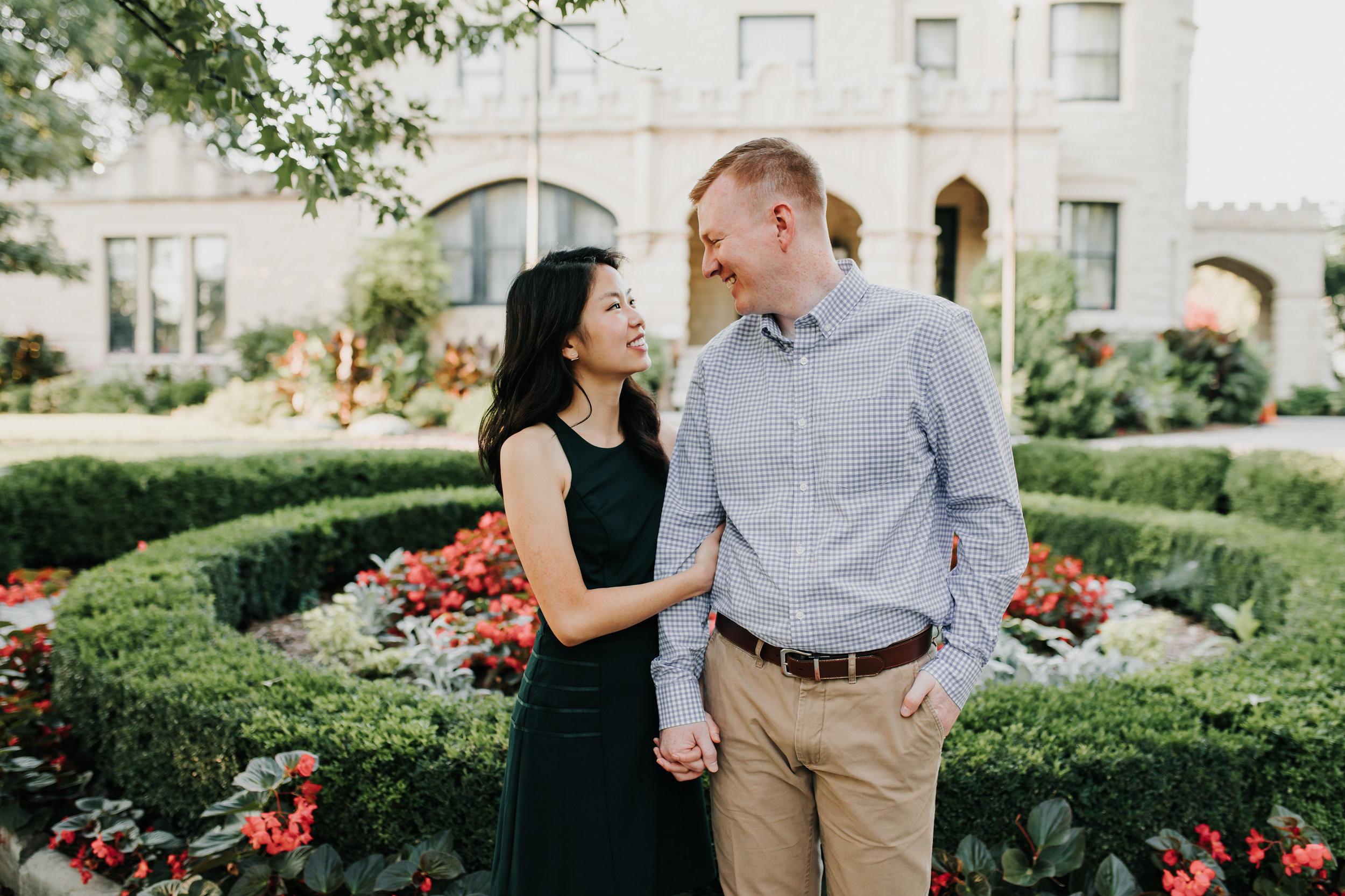 Catherin & Kyle - Married - Nathaniel Jensen Photography - Omaha Nebraska Wedding Photograper - Memorial Park - Joslyn Castle Engagement Session-51.jpg