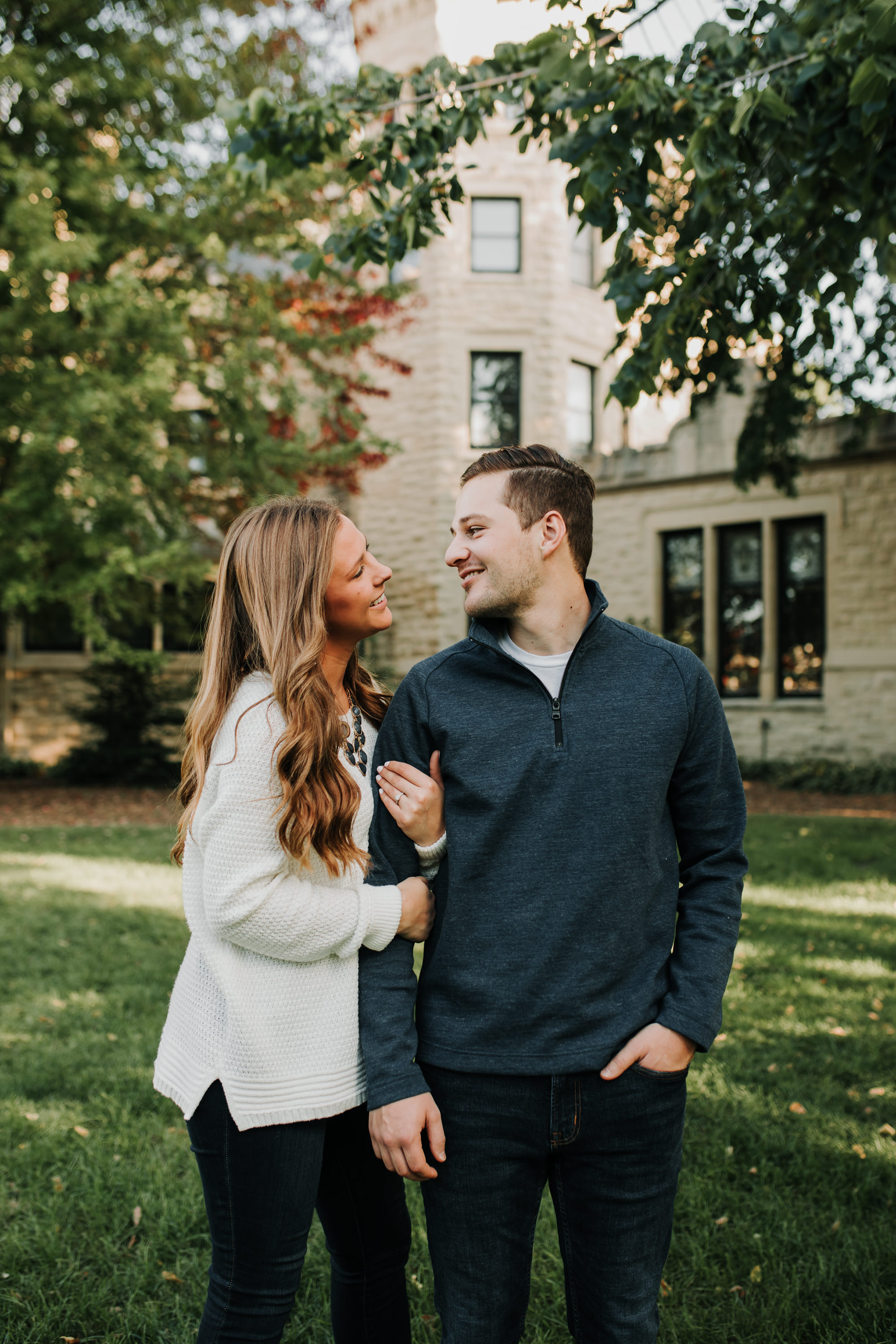 Michelle & Sam - Engaged - Nathaniel Jensen Photography - Omaha Nebraska Wedding Photograper - Omaha Nebraska Engagement Session-13.jpg