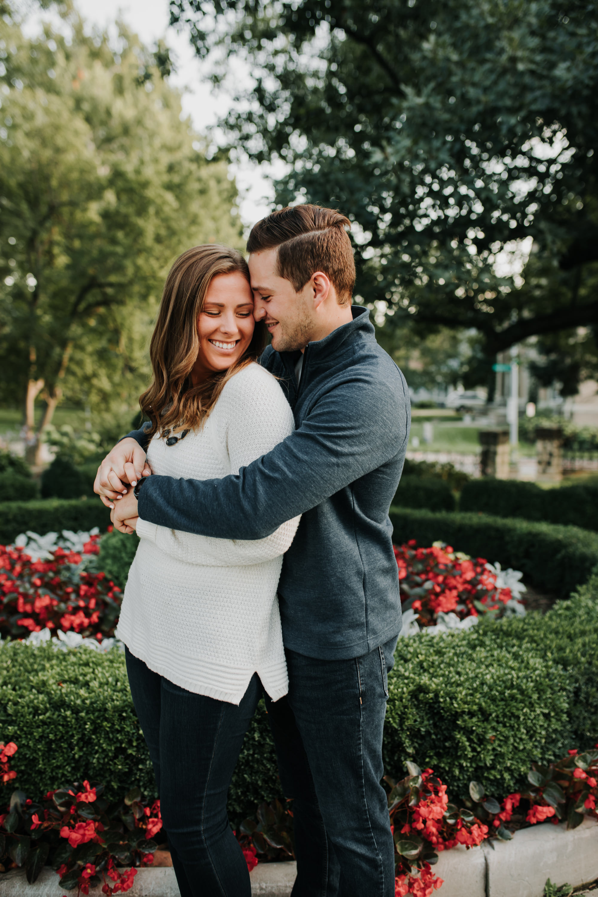Michelle & Sam - Engaged - Nathaniel Jensen Photography - Omaha Nebraska Wedding Photograper - Omaha Nebraska Engagement Session-15.jpg