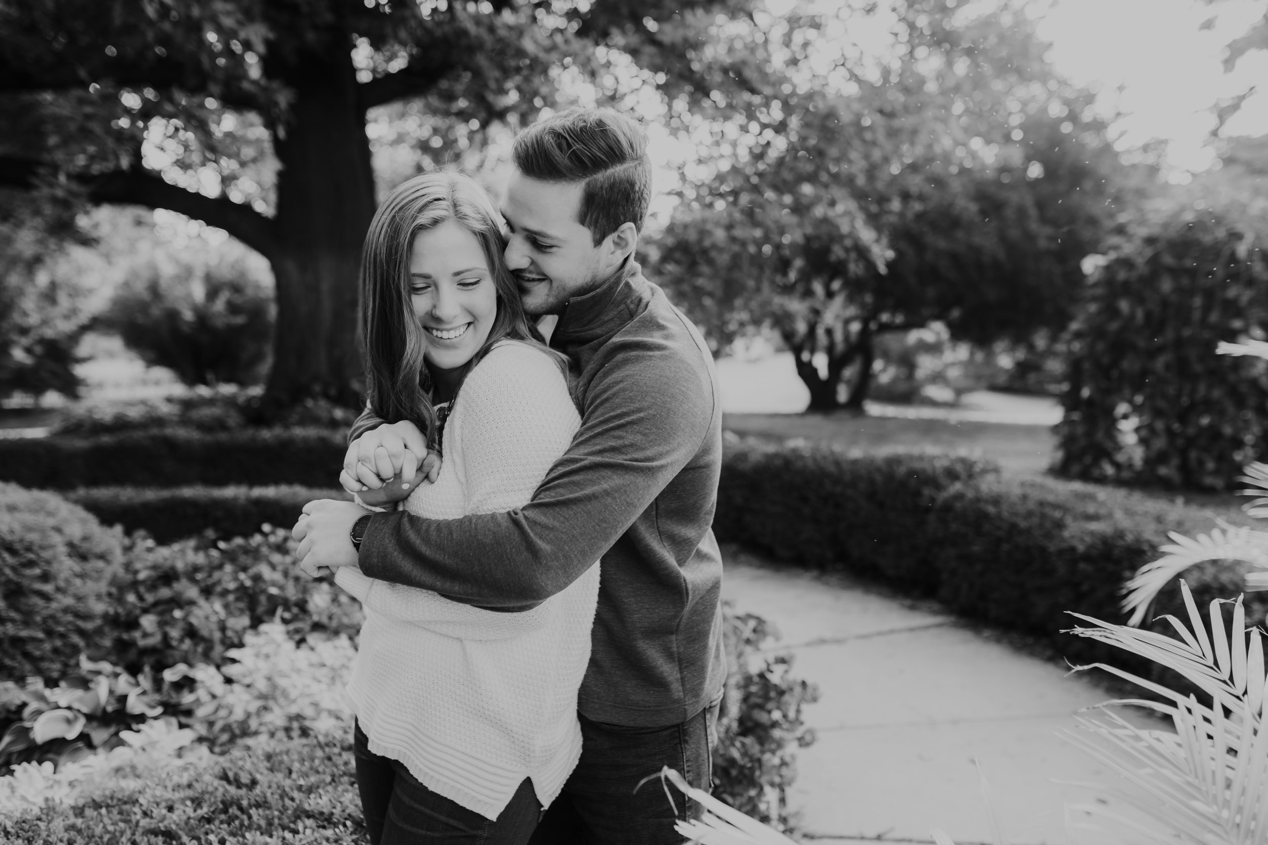 Michelle & Sam - Engaged - Nathaniel Jensen Photography - Omaha Nebraska Wedding Photograper - Omaha Nebraska Engagement Session-18.jpg