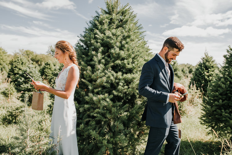 Cassidy & Isaac - Married - Nathaniel Jensen Photography - Omaha Nebraska Wedding Photograper - Nordstroms Christmas Tree Farm-7.jpg