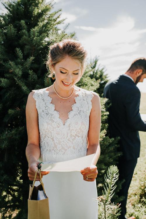 Cassidy & Isaac - Married - Nathaniel Jensen Photography - Omaha Nebraska Wedding Photograper - Nordstroms Christmas Tree Farm-8.jpg
