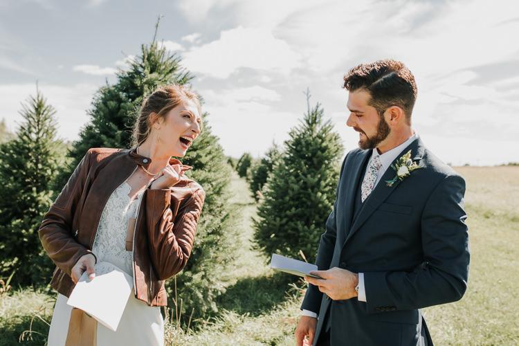 Cassidy & Isaac - Married - Nathaniel Jensen Photography - Omaha Nebraska Wedding Photograper - Nordstroms Christmas Tree Farm-16.jpg