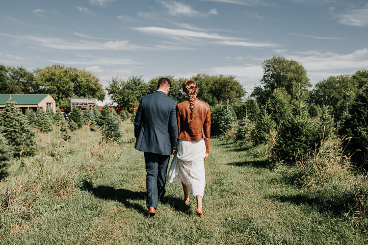 Cassidy & Isaac - Married - Nathaniel Jensen Photography - Omaha Nebraska Wedding Photograper - Nordstroms Christmas Tree Farm-24.jpg