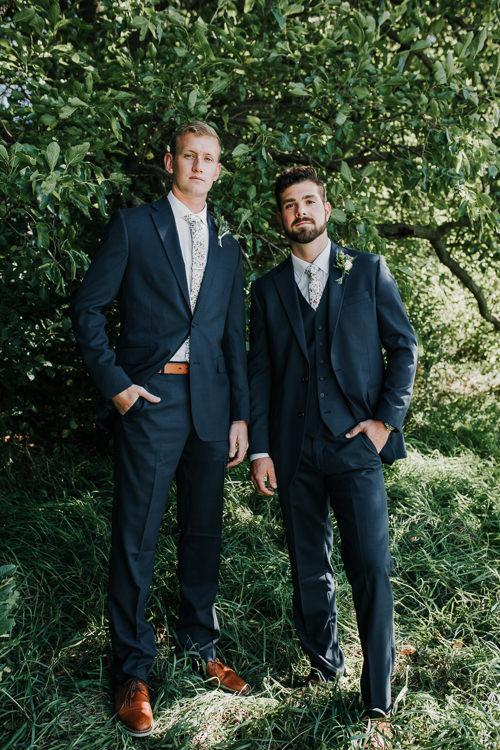 Cassidy & Isaac - Married - Nathaniel Jensen Photography - Omaha Nebraska Wedding Photograper - Nordstroms Christmas Tree Farm-38.jpg