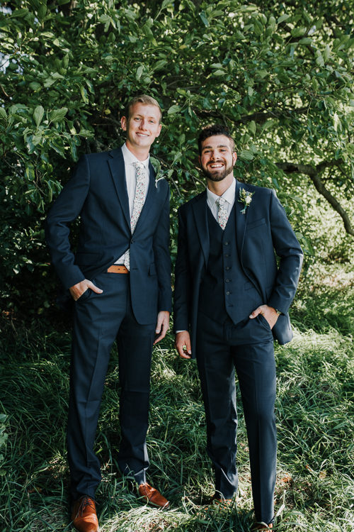 Cassidy & Isaac - Married - Nathaniel Jensen Photography - Omaha Nebraska Wedding Photograper - Nordstroms Christmas Tree Farm-39.jpg