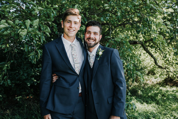 Cassidy & Isaac - Married - Nathaniel Jensen Photography - Omaha Nebraska Wedding Photograper - Nordstroms Christmas Tree Farm-43.jpg