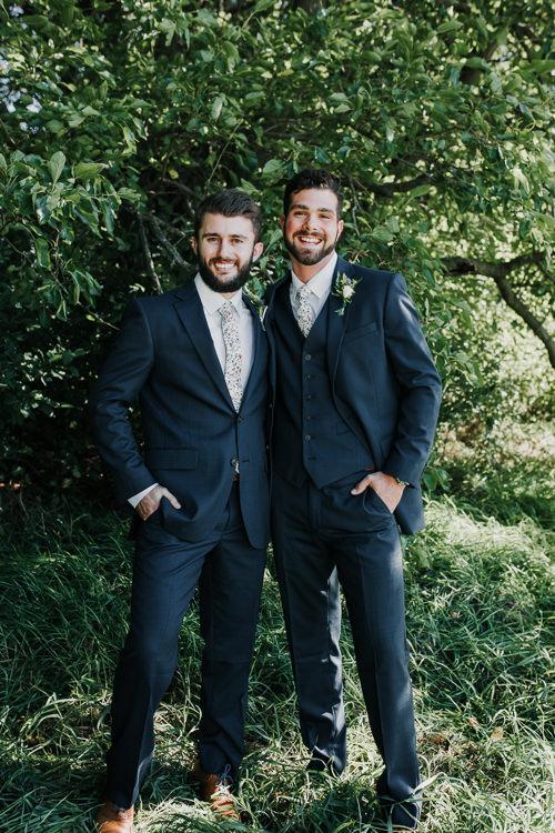Cassidy & Isaac - Married - Nathaniel Jensen Photography - Omaha Nebraska Wedding Photograper - Nordstroms Christmas Tree Farm-47.jpg