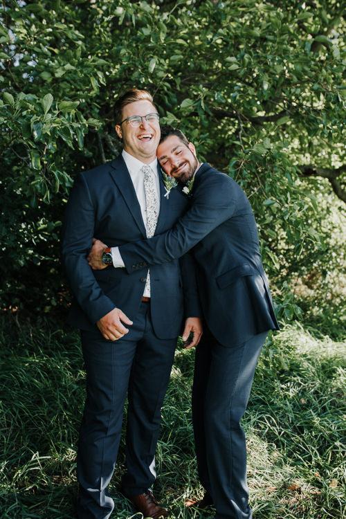 Cassidy & Isaac - Married - Nathaniel Jensen Photography - Omaha Nebraska Wedding Photograper - Nordstroms Christmas Tree Farm-51.jpg