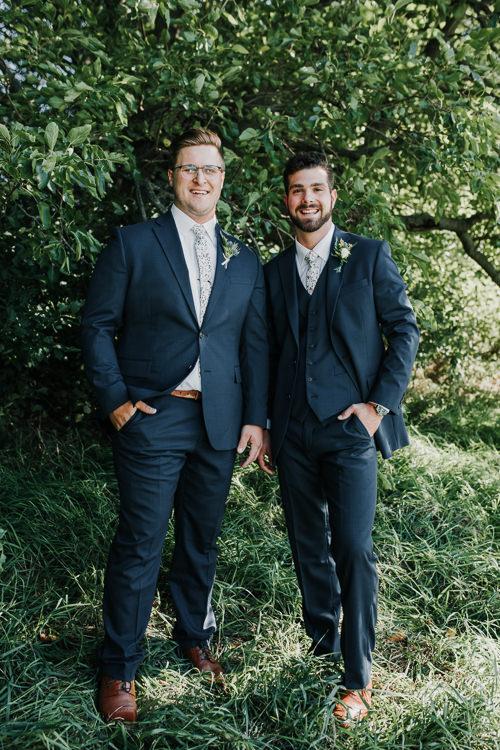 Cassidy & Isaac - Married - Nathaniel Jensen Photography - Omaha Nebraska Wedding Photograper - Nordstroms Christmas Tree Farm-54.jpg
