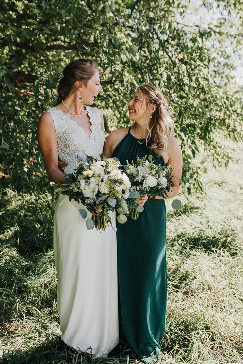 Cassidy & Isaac - Married - Nathaniel Jensen Photography - Omaha Nebraska Wedding Photograper - Nordstroms Christmas Tree Farm-91.jpg