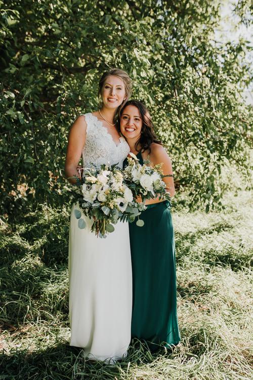 Cassidy & Isaac - Married - Nathaniel Jensen Photography - Omaha Nebraska Wedding Photograper - Nordstroms Christmas Tree Farm-98.jpg