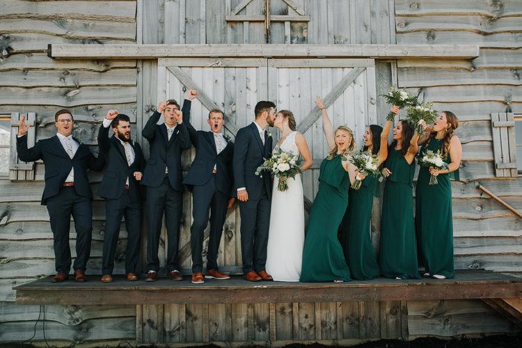 Cassidy & Isaac - Married - Nathaniel Jensen Photography - Omaha Nebraska Wedding Photograper - Nordstroms Christmas Tree Farm-114.jpg