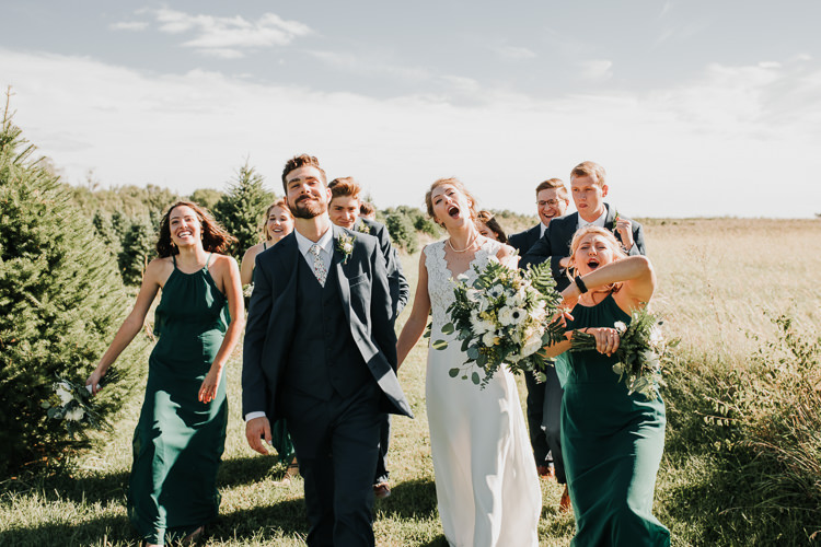 Cassidy & Isaac - Married - Nathaniel Jensen Photography - Omaha Nebraska Wedding Photograper - Nordstroms Christmas Tree Farm-128.jpg