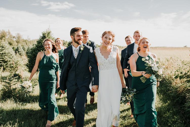 Cassidy & Isaac - Married - Nathaniel Jensen Photography - Omaha Nebraska Wedding Photograper - Nordstroms Christmas Tree Farm-130.jpg