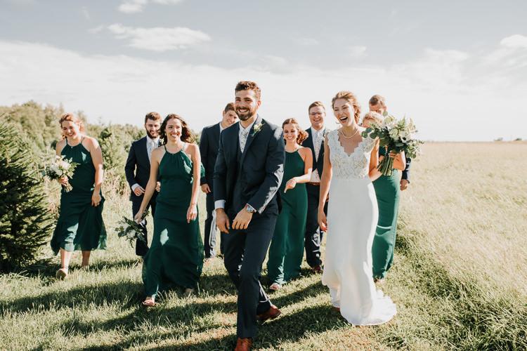 Cassidy & Isaac - Married - Nathaniel Jensen Photography - Omaha Nebraska Wedding Photograper - Nordstroms Christmas Tree Farm-137.jpg