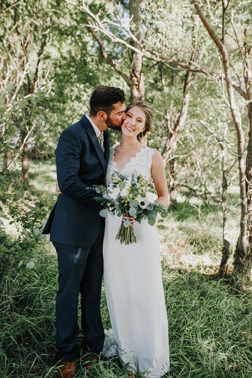 Cassidy & Isaac - Married - Nathaniel Jensen Photography - Omaha Nebraska Wedding Photograper - Nordstroms Christmas Tree Farm-160.jpg