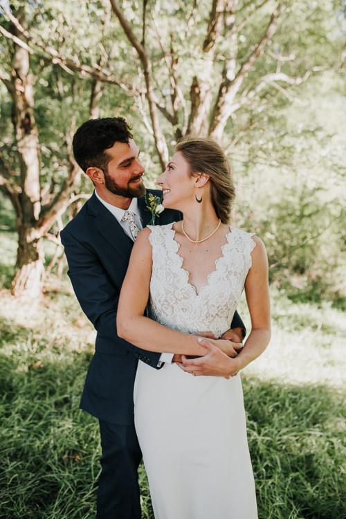 Cassidy & Isaac - Married - Nathaniel Jensen Photography - Omaha Nebraska Wedding Photograper - Nordstroms Christmas Tree Farm-164.jpg