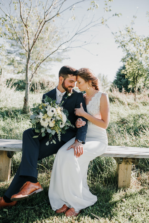 Cassidy & Isaac - Married - Nathaniel Jensen Photography - Omaha Nebraska Wedding Photograper - Nordstroms Christmas Tree Farm-180.jpg