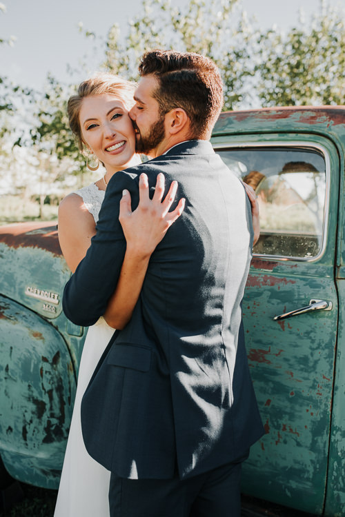 Cassidy & Isaac - Married - Nathaniel Jensen Photography - Omaha Nebraska Wedding Photograper - Nordstroms Christmas Tree Farm-188.jpg