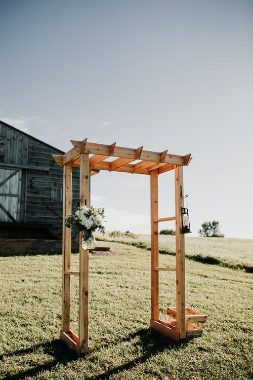 Cassidy & Isaac - Married - Nathaniel Jensen Photography - Omaha Nebraska Wedding Photograper - Nordstroms Christmas Tree Farm-216.jpg