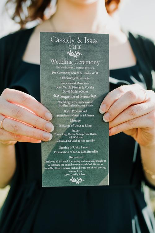 Cassidy & Isaac - Married - Nathaniel Jensen Photography - Omaha Nebraska Wedding Photograper - Nordstroms Christmas Tree Farm-217.jpg