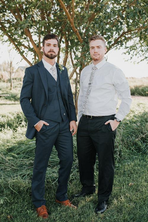 Cassidy & Isaac - Married - Nathaniel Jensen Photography - Omaha Nebraska Wedding Photograper - Nordstroms Christmas Tree Farm-223.jpg