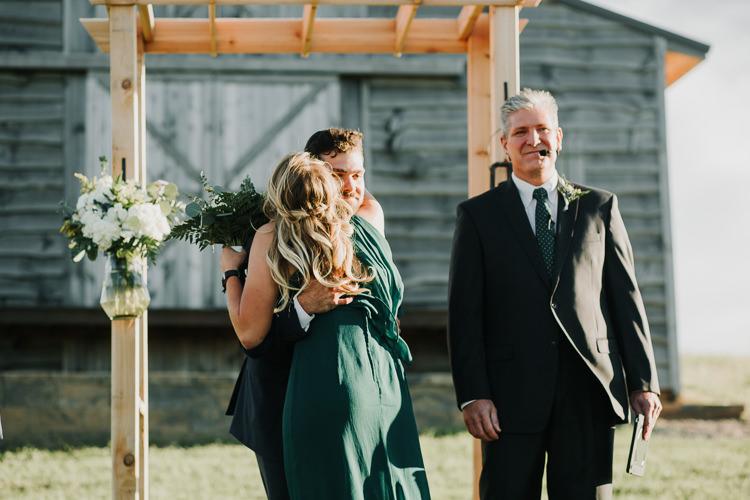 Cassidy & Isaac - Married - Nathaniel Jensen Photography - Omaha Nebraska Wedding Photograper - Nordstroms Christmas Tree Farm-263.jpg