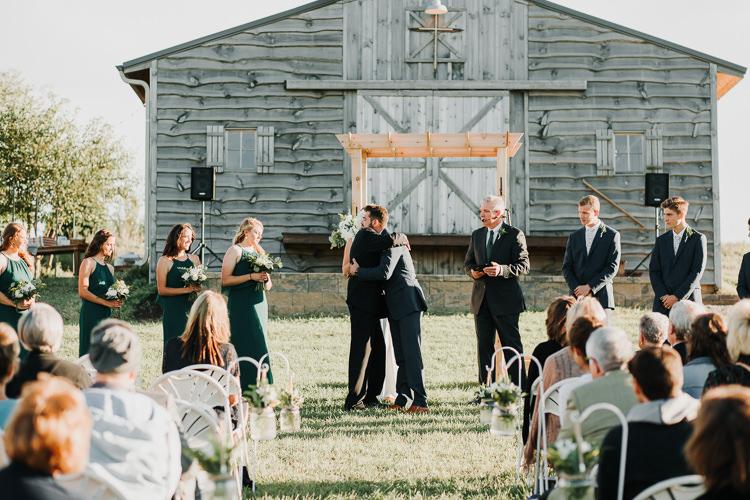 Cassidy & Isaac - Married - Nathaniel Jensen Photography - Omaha Nebraska Wedding Photograper - Nordstroms Christmas Tree Farm-283.jpg