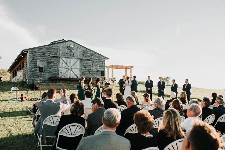 Cassidy & Isaac - Married - Nathaniel Jensen Photography - Omaha Nebraska Wedding Photograper - Nordstroms Christmas Tree Farm-286.jpg