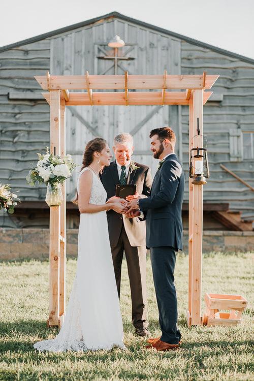 Cassidy & Isaac - Married - Nathaniel Jensen Photography - Omaha Nebraska Wedding Photograper - Nordstroms Christmas Tree Farm-296.jpg