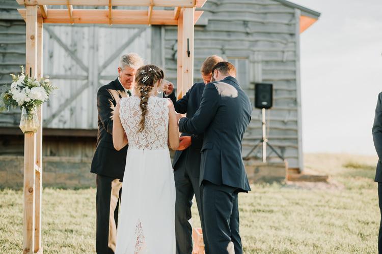 Cassidy & Isaac - Married - Nathaniel Jensen Photography - Omaha Nebraska Wedding Photograper - Nordstroms Christmas Tree Farm-306.jpg
