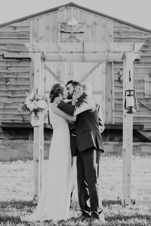 Cassidy & Isaac - Married - Nathaniel Jensen Photography - Omaha Nebraska Wedding Photograper - Nordstroms Christmas Tree Farm-308.jpg