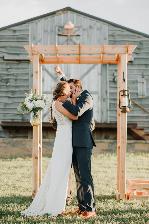 Cassidy & Isaac - Married - Nathaniel Jensen Photography - Omaha Nebraska Wedding Photograper - Nordstroms Christmas Tree Farm-310.jpg