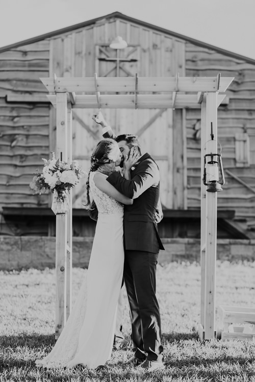 Cassidy & Isaac - Married - Nathaniel Jensen Photography - Omaha Nebraska Wedding Photograper - Nordstroms Christmas Tree Farm-311.jpg